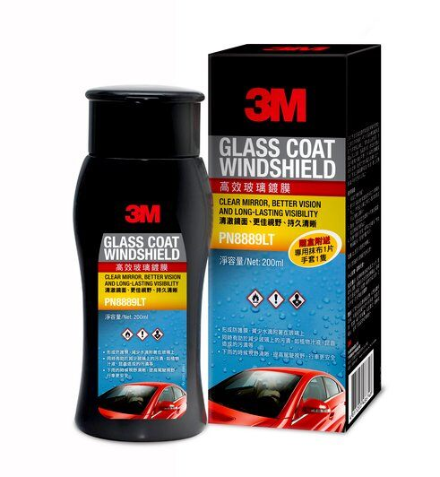 3M GLASS COAT WINDSHIELD 08889LT