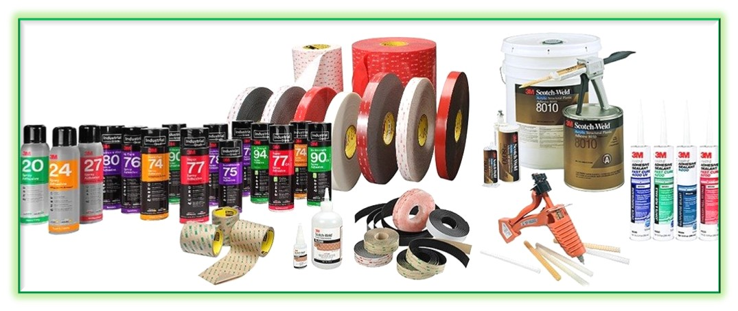 3M Tapes and Adhesives Solutions